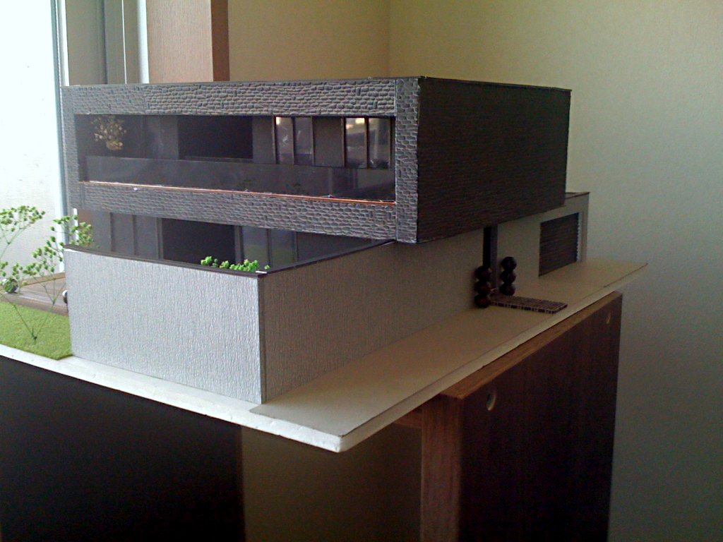 Architectural model S-HOUSE